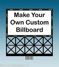 CUSTOM MILLER ENGINEERING  Animated Neon Sign O/HO Scale #88-2351