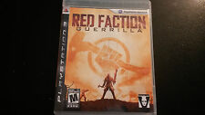 Red Faction: Guerrilla PS3 Playstation 3 CIB with Manual. TESTED.