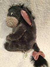 Walt Disney World Exclusive Eeyore 7� Plush Sad Fuzzy Face Removable Tail W Bow