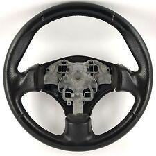 Peugeot 206 GTi 180 black leather steering wheel. Genuine OEM. HDi, XSi etc   1B