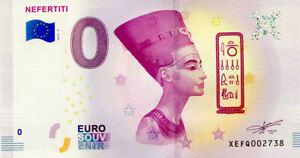 ALLEMAGNE Nefertiti, 2019, Billet Euro Souvenir