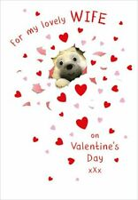 Valentines Day Card Wife Pug Surprise