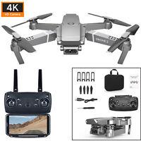 E68 Drone 4K HD Wide Angle Camera WiFi 1080P FPV Video Quadcopter / Battery MV