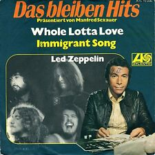 "7"" Led Zeppelin – Whole Lotta Love / Immigrant Song / DbH // Germany 1972"