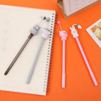 Stationery Cute Animals Pencils Neutral Pencil Cartoon Silicone Pen Gel Pens