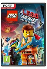 PC Game The Lego Movie Video Game DVD Shipping NEW