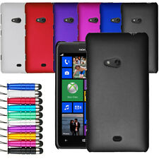 For Nokia Lumia 625 Armour Hard Shell Case Cover + Screen Protector + Stylus
