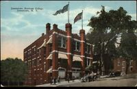 Jamestown NY Business College c1910 Postcard