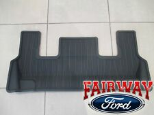 20 thru 21 Explorer OEM Genuine Ford Black 3rd Row Floor Mat with Console