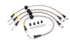 NEW 2009+ Audi B8 A4 A5 S4 S5 Q5 Stainless Steel Brake Line Set