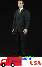 1/6 Men Agent Suit Set For Phil Coulson S.H.I.E.L.D. Phicen HotToys Figure ❶USA❶