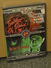 Bucket Of Blood / My Son The Vampire (DVD) Roger Corman, Bela Lugosi, BRAND NEW!