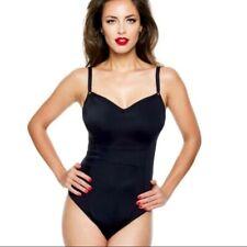 Panache Isobel Underwire Onepiece Swimsuit Black ~Size 40FF~