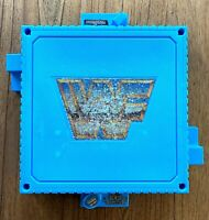 WWF Hasbro Wrestling Ring Base Only Vintage 1989 Replacement Part 90s WWE Blue