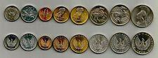 Greece 1973 B Complete set Athenian owl, Pegasus, Goddess Athena , Phoenix , UNC