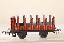 Märklin H0 Vagón de Chapa 372 Plataforma con Color Liso Garita Guardafrenos