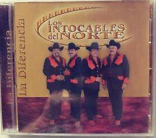 LOS INTOCABLES DEL NORTE - LA DIFERENCIA (2006 BRAND NEW CD)