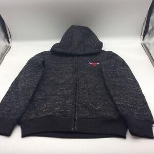Chicago Bulls NBA GIII Sports by Carl Banks Kids Sweatshirt Black Hooded S New