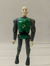 Incredible Crash Dummies Figure Mattel 2003 Green Grey Head Popping Hot Wheels