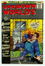 JERRY WEIST ESTATE: UNKNOWN WORLDS #48 (FN) & 50 (VG) (ACG 1966) NO RES