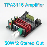 TPA3116 Power Amplifier 50W*2 Or 100W*2 Output Class D Stereo TPA3116 Amplifier