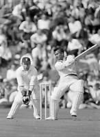 OLD CRICKET PHOTO Rohan Kanhai Batting For The West Indies