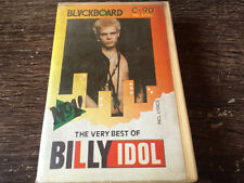 BILLY IDOL - The Very Best Of CASSETTE TAPE / Made In Indonesia