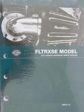 2012 Harley FLTRXSE CVO Road Glide Custom Part Parts Catalog Manual 99431-12