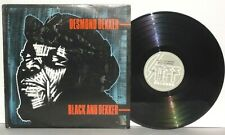 DESMOND DEKKER Black And Dekker LP 1980 Stiff Records USE7 Ska Vinyl PLAYS WELL