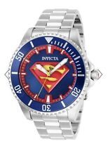 Invicta Grand Diver DC Comics Superman 47mm Automatic Blue/Red Wrist Watch...