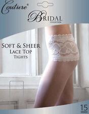 Nylon Floral Bridal Stockings & Hold-ups for Women