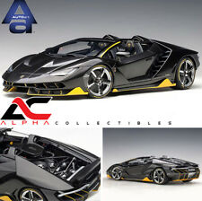AUTOART 79119 1:18 LAMBORGHINI CENTENARIO ROADSTER (CLEAR CARBON WITH YELLOW)