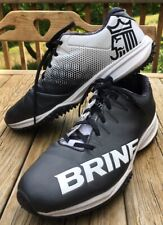BRINE HTF Field Hockey/ Lacrosse Turf Shoes Women's 8.5 Black Empress EMPR2TBK