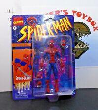 Marvel Legends Retro Vintage Super Poseable Spiderman New