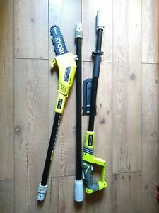 Ryobi ONE+ 18V RPP182020 Cordless Pole Pruner, 20cm Bar Saw OPP1820