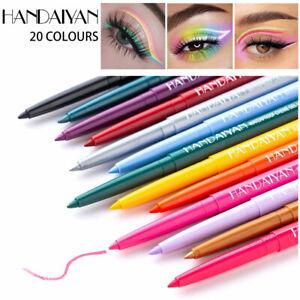20 Colors Liquid Eyeliner Pencil Long Lasting Waterproof Colorful Pen Eye Makeup