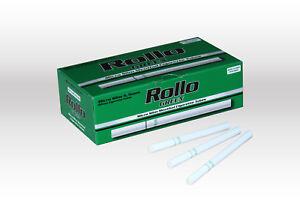 1200 MICRO SLIM GREEN MENTHOL EMPTY ROLLO TUBES Cigarrette Tobbacco Filter