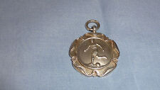 Sterling Silver Pocket Watch Fob/Medal - Sir T Royden Cup 1935-6 - Football