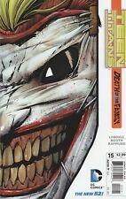 Teen Titans # 15 - Death of the Family Die-cut Cover  VF+/NM
