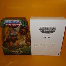 "2009 MATTEL MOTU HE-MAN MASTERS OF THE UNIVERSE CLASSICS TYTUS 12"" FIGURE BOXED"