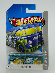 Hot Wheels HW City Surf's Up Bus 2013 New Free Shipping