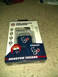 Houston Texans Bluetooth WIRELESS EARBUDS+ Charging Case(all smart phones tablet
