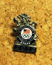 Team USA London 2012 Pin Badge  Olympic Paralympic NOC Rare Dated Pin Badge