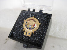 Polish Legion Amer Vets  20    yr  pin mint