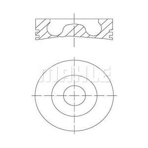 MAHLE Piston 081 PI 00105 000 FOR 3 Series 5 4 X5 X6 7 Gran Turismo X3 X4 6 Tour