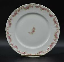 Chas Field Haviland Limoges GDA CFH341 Dinner Plate Blank 17 Pink Floral Swags