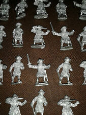 Bretonnia Men At Arms with swords, War of the Roses Metal (20 models) Warhammer