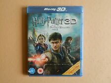 Harry Potter and the Deathly Hallows Part 2 3D Blu Ray - Rowling Hogwarts