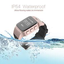 Smart Wrist Watch GPS Tracking Locater SOS Voice Monitor Intercom For Kids Elder