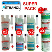 "MECARUN - Super Pack ""ETHANOL"" 2x P18 + 2x C99 + 2x ECO10000 + 1+1 ENGINE FLUSH"